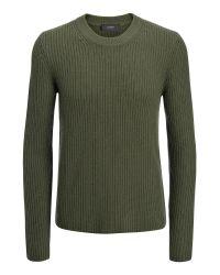 JOSEPH | Green Military Cashmere Sweater for Men | Lyst
