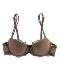 Chantelle - Brown Rive Gauche T-shirt Bra - Lyst
