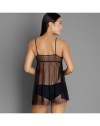 Only Hearts - Black Coucou Ruffle Chemise - Lyst