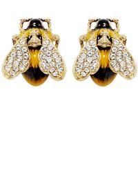 Vivienne Westwood - Metallic Bumble Stud Earrings - Lyst
