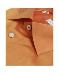 Eton of Sweden - Orange Contemporary Fit Shirt for Men - Lyst