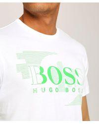 BOSS - White Regular Fit Tee 1 T-shirt for Men - Lyst