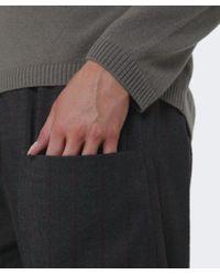 Oska - Brown Laika Wool Check Trousers - Lyst