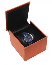 Simon Carter - Blue Face Chronograph Watch for Men - Lyst