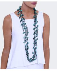 Jianhui - Black Wooden Bead Necklace - Lyst