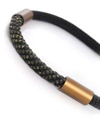 Christina Brampti - Black Single Rope Tube Necklace for Men - Lyst