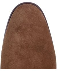 H by Hudson - Blue Cooke Suede Chukka Boots for Men - Lyst