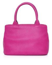Vivienne Westwood - Purple Bow Shopper Bag - Lyst