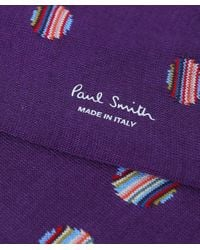 Paul Smith - Purple Multi Polka Dot Socks - Lyst