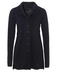 Rundholz - Black Frill Back Jersey Jacket - Lyst