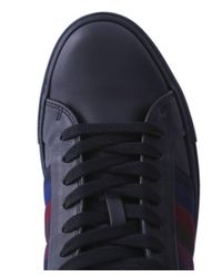 Paul Smith - Black Leather Ivo Trainers for Men - Lyst