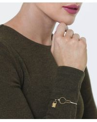 Marc Jacobs - Metallic Lost & Found Hinge Bracelet - Lyst