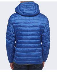 Napapijri | Blue Aerons Hood Quilted Jacket for Men | Lyst