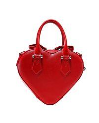 Vivienne Westwood Red Johanna Heart Handbag