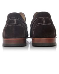 Joss - Brown Suede Savanna Loafers for Men - Lyst