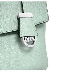MICHAEL Michael Kors - Green Ava Small Satchel Bag - Lyst