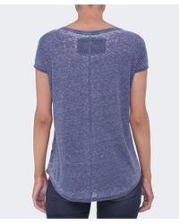 True Religion - Blue Skull T-shirt - Lyst
