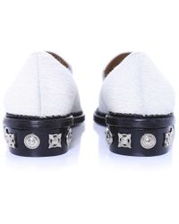 Toga Pulla - White Calf Hair Loafers - Lyst
