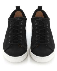 PS by Paul Smith - Black Leather Miyata Trainers for Men - Lyst