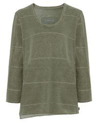 Oska | Green Striped Tikky Top | Lyst