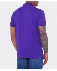 Gant - Purple Original Rugger Polo Shirt for Men - Lyst