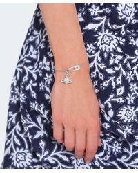 Vivienne Westwood - Metallic Sterling Silver Clothilde Bracelet - Lyst