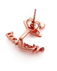 Vivienne Westwood - Pink Toni Earrings - Lyst