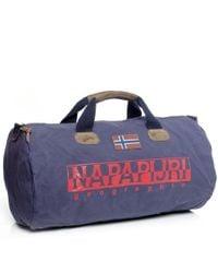 Napapijri - Blue Bering Holdall for Men - Lyst