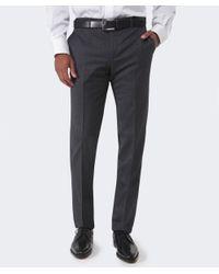 Corneliani - Gray Wool Trousers for Men - Lyst