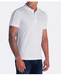 BOSS - Natural Paule Polo Shirt for Men - Lyst