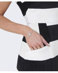 Vivienne Westwood - Metallic Mayfair Bas Relief Bracelet - Lyst