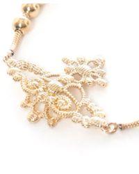 Vivienne Westwood - Metallic Isolde Bas Relief Bracelet - Lyst