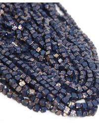Jianhui - Blue Pashmina Chain Necklace - Lyst