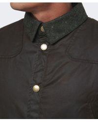 Barbour | Green Reelin Wax Jacket for Men | Lyst