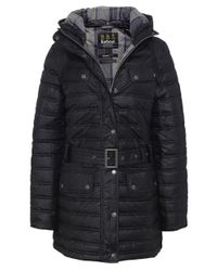 Barbour - Black Baffle Quilted Down Jacket - Lyst