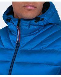 Napapijri | Blue Hooded Aerons Jacket for Men | Lyst