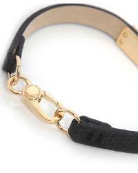 Marc Jacobs | Black Supply Leather Bracelet | Lyst