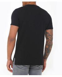 Vivienne Westwood Black Organic Cotton Crew Neck Peru T-shirt for men