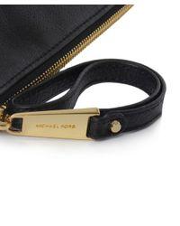 MICHAEL Michael Kors - Black Rhea Large Pouch Clutch Bag - Lyst