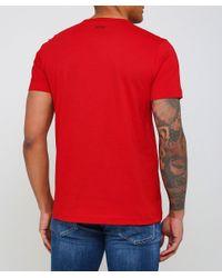BOSS - Red Regular Fit Tee 1 T-shirt for Men - Lyst
