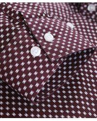 HUGO - Red Extra Slim Fit Erondo Shirt for Men - Lyst