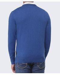 Paul Smith - Blue Crew Neck Jumper for Men - Lyst
