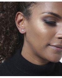 Vivienne Westwood | Metallic Mini Orb Farah Earrings | Lyst