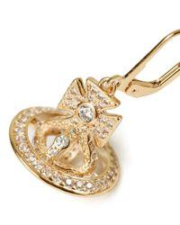 Vivienne Westwood - Metallic Isabella Orb Earrings - Lyst