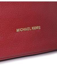 MICHAEL Michael Kors - Red Bedford Shoulder Bag - Lyst