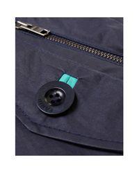 Farhi by Nicole Farhi - Blue Classic Trench Coat - Lyst