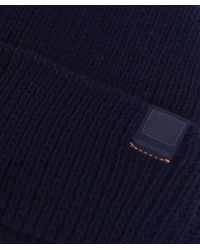 BOSS Orange - Blue Foxi Fisherman Beanie Hat for Men - Lyst