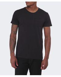 Replay   Black Chest Pocket T-shirt for Men   Lyst