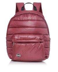 Colmar - Red Quilted Backpack for Men - Lyst