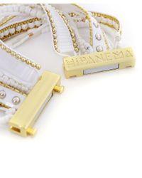 Hipanema - White Olympe Boho Bracelet - Lyst